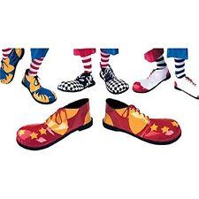 Zapatos De Payaso Profesional Suela de Goma Accesorio Para Circo Fancy Dress