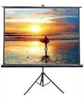 """VIVO 100"""" Portable Indoor Outdoor Projector Screen, 100 Inch Diagonal Projection"""