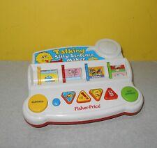 Older Fisher-Price Sesame Street Talking Silly Sentence Maker Educational Toy