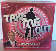 TAKE ME OUT BOARD GAME BY ROCKET GAMES DATING PADDY MCGUINNESS TV SHOW COMPLETE