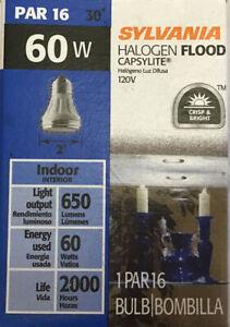 Sylvania Halogen Flood Capsylite 60w 120v Indoor NFL30