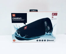 JBL Charge 3 Waterproof Black Portable Speaker