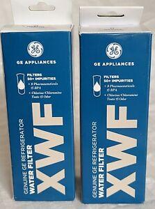 Set Of 2 GE XWF WATER FILTER REFRIGERATOR GENUINE NEW