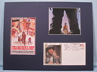 """Charles Bronson in """"Once Upon a Time in the West"""" & Henry Fonda Special Cover"""
