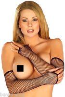 Elegante Netzhandschuhe mit freier Größewahl: Gr S, M, L von bunny-shop