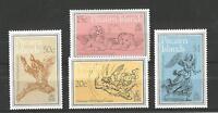 PITCAIRN ISLANDS 1982 CHRISTMAS SG,230-233 UM/M NH LOT 1478A