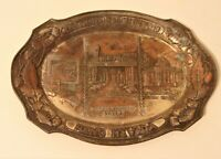 Vintage Metal Reno Nevada Advertising Ashtray Casino