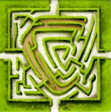 █ Carcassonne Promo Erweiterung Labyrinth - neue Version - NEU █
