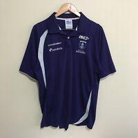 Fremantle Dockers ISC AFL Football Polo Shirt Mens XL