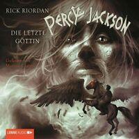 "RICK RIORDAN ""PERCY JACKSO: DIE LETZTE GÖTT"" 4 CD NEU"