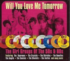 Various Artists WILL YOU LOVE ME TOMORROW - GIRL GROUPS OF 50S & 60S New 50songs
