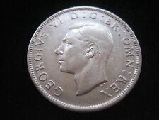 "MDS GROSSBRITANNIEN HALF CROWN 1945 ""GEORGE VI."", SILBER"