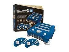 Hyperkin RetroN 3 Gaming Console 2.4 GHz NES / SNES / Gnensis - (Bravo Blue)
