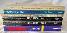 VINTAGE LOT OF 6 RELIGIOUS BOOKS ON REVELATION VAN GORDER, LAHAYE