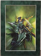GREEN HORNET By ALEX ROSS Suede Matted Print Dynamite Comics Kato Kevin Smith