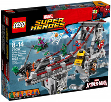 LEGO 76057 Spider-Man: Web Warriors Ultimate Bridge Battle *NEW, Factory sealed*