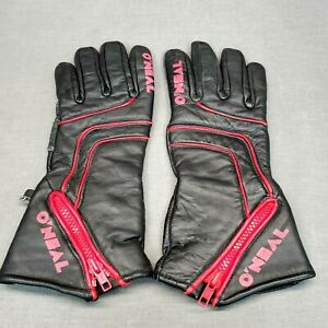 O'Neal Leather Motorcycle Gloves, Women's Size 9