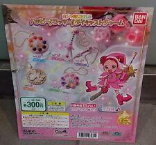 Bandai Magical Ojamajo Doremi Die Cast Charm Gashapon Keychain - Set of 5