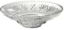 Swartons 24% lead Crystal Bowl Large Crystal Fruit Bowl Centerpiece Bowl