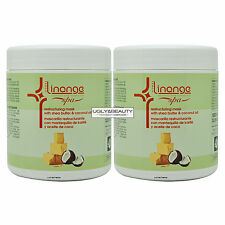 """Linange Restructuring Mask with Shea Butter & Coconut Oil 1000 ml """"Pack of 2"""""""