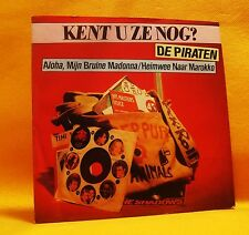 "7"" Single Vinyl De Piraten Aloha, Mijn Bruine Madonna 2TR 1981 (MINT) Pop Folk !"