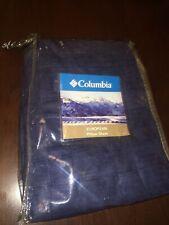 Columbia Sportswear Tacoma Blue Basket Weave Euro European Pillow Sham New