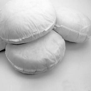 Hollowfibre Round Cushion Pads Insert Inner Scatter Fillers Pillow Customised