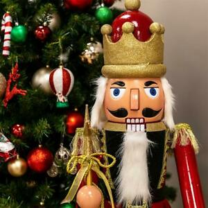 Festive Feeling 1m Singing Nutcracker with Moving Arms & Mouth
