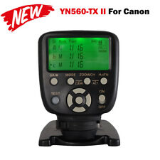 Yongnuo YN560-TX C II Wireless Flash Controller Commander for Canon RF-603 II