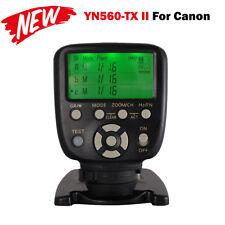 Yongnuo YN560-TX C II Wireless Flash Controller Commander for Canon RF-603 II