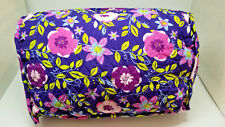 """Floral Couch Pillow with Pockets for Remotes, Eyeglasses, etc.  14"""" x 9"""" x 9"""""""