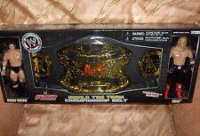 WWE Wrestling- World Tag Team Champ-Gürtel + Edge & Randy Orton Figuren-Neu,OVP