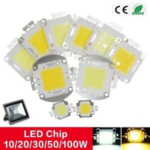 High Power LED Lamp Light COB SMD Bulb Chip DIY 12V 10W / 36V 20W 50W 70W 100W