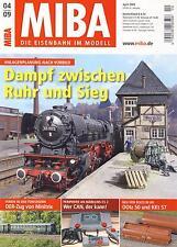 MIBA - Eisenbahn im Modell - April 2009 - Modell, Landschaft, Dioramen, Tipps