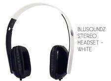 Blusoundz Stéréo Sur Oreille Casque Casque blanc NEUF de la marque FREE POST