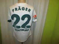 "VfL Wolfsburg Original Puma Heim Trikot 2002/03 ""VW"" + Nr.22 Präger Gr.M"