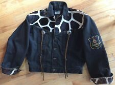 Rare France Spector's Par Selecto Denim and fur jacket, M