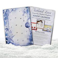 Nouveau tattered lace advent calendar-comprend 25 mini coupe meurt-gratuit uk p&p
