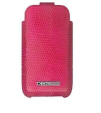4-OK Skeen Snake Tasche Hülle Case Etui Pink für Samsung 533 WAVE