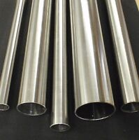 """STAINLESS STEEL TUBING 1"""" O.D. X 24 INCH LENGTH X 1/16"""" WALL TUBE PIPE TB25x24"""