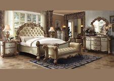 gold bedroom furniture. formal luxury antique vendome eastern king size 4 piece bedroom set furniture gold ebay