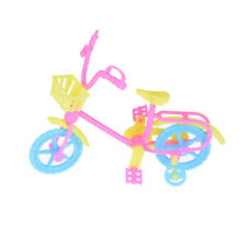 Cute Bicycles Bikes Mini Toy for Barbie Accessories Girls Birthday Gifts Us`
