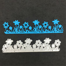 Flower and grass Metal Cutting Dies Stencils For Scrapbooking Card Craft DecorFE