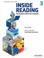 Inside Reading, Level 3 : The Academic Word List in Context by Bruce Rubin...