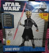 New Star Wars Child's Size Medium Savage Opress Costume Size 8 - 10 USA SELLER