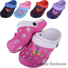 Childrens / Kids / Girls / Boys Holiday / Beach / Pool / Garden Clogs / Sandals