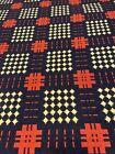 Williamsburg AAR Folk Art Center Fieldcrest Cotton Bedspread Coverlet