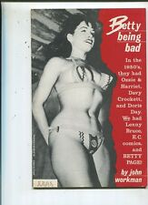 Betty Page  Being Bad  Bunny Yeager Risque Cheesecake     MBX72