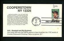 US FDC #2417 Unknown 1989 Cooperstown NY Lou Gehrig New York Yankees Copyright