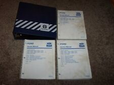 Ford New Holland 2000 3000 4000 5000 7000 3400 Tractor Service Repair Manual Set